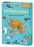 moses. Expedition Natur - 50 Meerestiere I Bestimmungskarten im Set I Mit spannenden Quizfragen