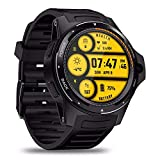 Dual-System Smartwatch 4G LTE Dual-Chip Smart Armband 1,39 'AOMLED-Bildschirm Armband 8,0 MP Frontkamera 2 GB + 16 GB Hybrid-GPS / GLONASS / Beidou Sports Fitness-Tracker