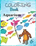 Aquarium Coloring Book: At the Aquarium Coloring Book/En El Acuario Libro de Colorear
