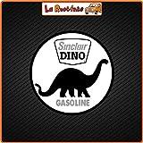 La Rad 2 Aufkleber Sinclair Dino Gasoline (Vinyl) Auto Motorrad Vespa Fahrrad Helm...