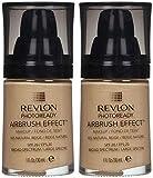 Revlon PhotoReady Airbrush Effect Makeup, 005 Natural Beige (2-pack)
