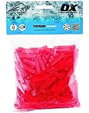 OX Tools OX-T160605 Trade Cross vormige tegel afstandhouders, Rood, 3.5 x 13.5 x 20 cm