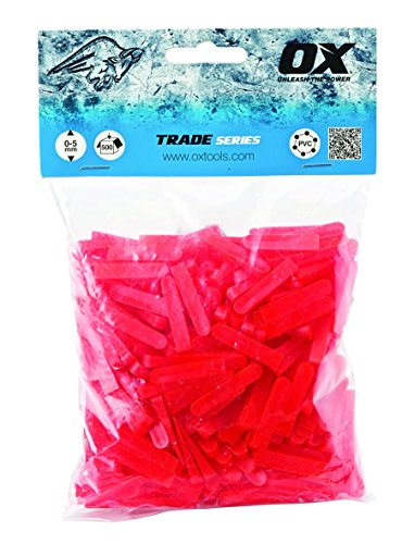 OX Trade Wedge Shaped Tile Spacers - 6mm (500 pcs)