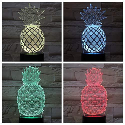 Ananas nachtlicht Touch Sensor neuheit Beleuchtung Kind Kind Baby Geschenk Gadget Obst tischleuchte