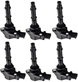 ENA Set of 6 Ignition Coil Pack Compatible with...