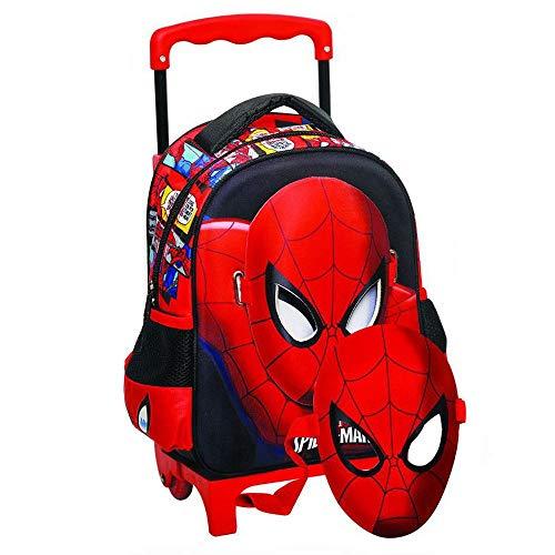 GIM Spiderman Sac à Dos Enfants, 31 cm, Rouge