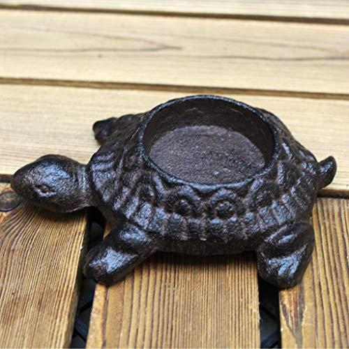 CKH Europese creatieve retro smeedijzeren schildpad kaars kandelaar kleine ornamenten dierlijke Amerikaanse zachte decoraties romantische huis kaars houder