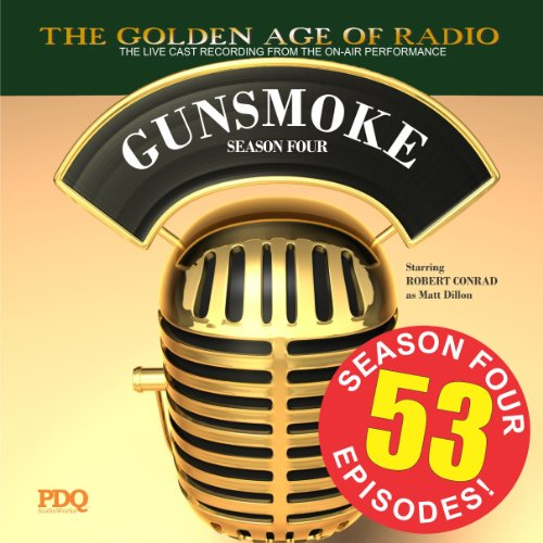 Gunsmoke, Season 4 audiobook cover art