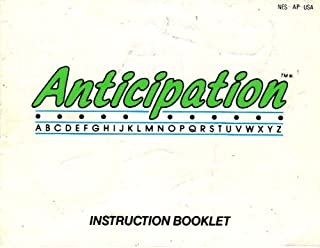 Anticipation NES Instruction Book - NO GAME - Nintendo Manual only