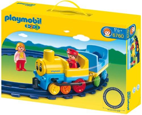 PLAYMOBIL: 1.2.3 Locomotora  6760