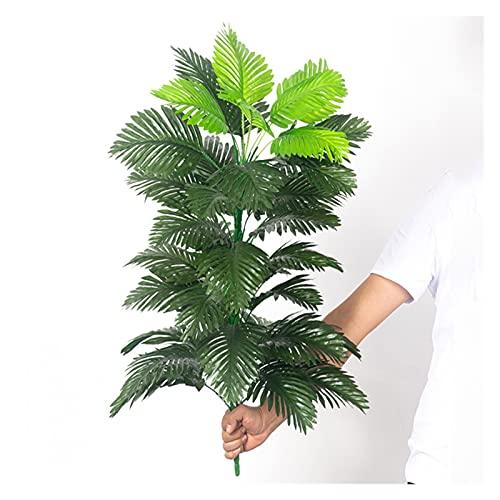Tropical Palm Tree 90 cm Grande pianta Artificiale Falso Monstera Seta Palma Foglia Grande Cocco Decorazione Giardino Domestico Senza pentola 0921 (Color : I, Size : 90cm 39 Leaves)
