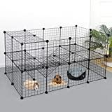 Have More Fun: Gives your small animals the freedom they desire while keeping them protected? Nova Metal Wire Grid Pen brings plenty of room and more fun to your pets. It provides a great enclosure to keep your pet safe and secure while indoors or ou...