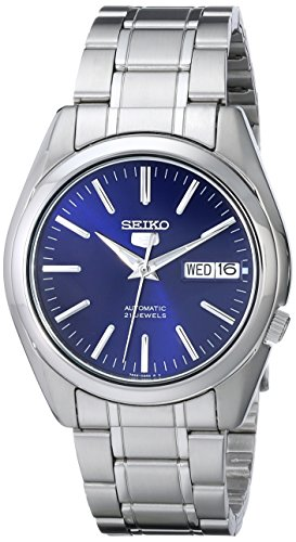 "Seiko Men's SNKL43 ""Seiko 5"" Stainless Steel Automatic Watch"
