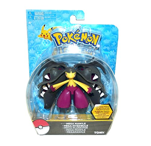 Pokemon Mega Mawile Articulated Action Figure, 4.5 X 3 inches