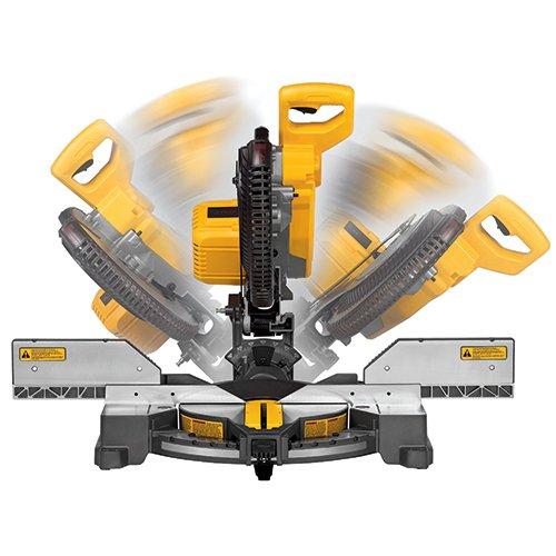 DEWALT FLEXVOLT 120V MAX Miter Saw Kit, 2-Inch, Compound, 2 Batteries (DHS716AT2)
