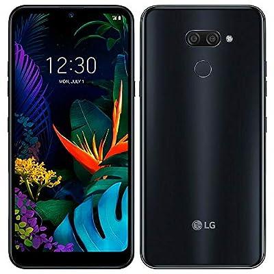 "LG K50 (32GB, 3GB) 6.26"" HD+ Display, MIL-STD 810G Certified, US + Global 4G LTE GSM Factory Unlocked LM-X520HM - International Model (Black, 32 GB)"