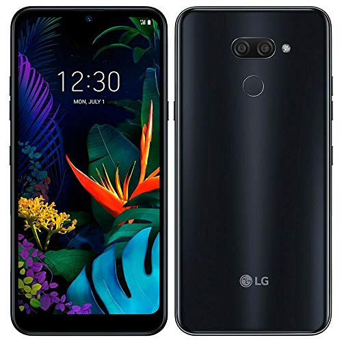 LG K50 (32GB, 3GB) 6.26' HD+ Display, MIL-STD 810G Certified, US + Global 4G LTE GSM Factory Unlocked LM-X520HM - International Model (Black, 32 GB)
