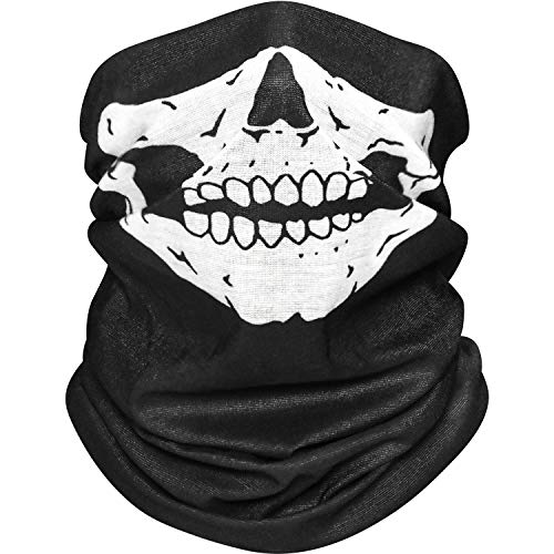 Bandana Cloth Face Mask Washable, Reusable Face Masks for Women and Men,Face Covering Neck Gaiter Dust Mask for Running, Riding Grey
