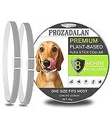 PROZADALAN Collar Antiparasitario para Perros, Impermeable, Diseño Impermeable y 8 Meses, Eficaz, Natural para Pequeños Animales Domésticos de Tamaño Mediano