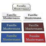 Türschild/Klingelschild mit Wunschtext und Wunschbild. Hochwertiger Druck   Namensschild Briefkasten   Hausschild - Schild selbst gestalten