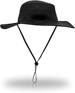 CoWalkers Sombrero de Sol de ala Ancha Unisex, Sombrero de Pesca Impermeable UPF 50+ al Aire Libre Sombrero de Boonie Cubo...