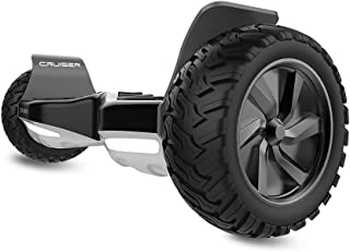 City Cruiser Hoverboard Dual Motors Electric Self Balancing Scooter with Built-in Speaker and LED Lights - UL2272 Certified