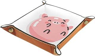 BestIdeas Panier de rangement carré 20,5 × 20,5 cm avec motif animal Kawaii dessiné à la main 1 boîte de rangement sur tab...