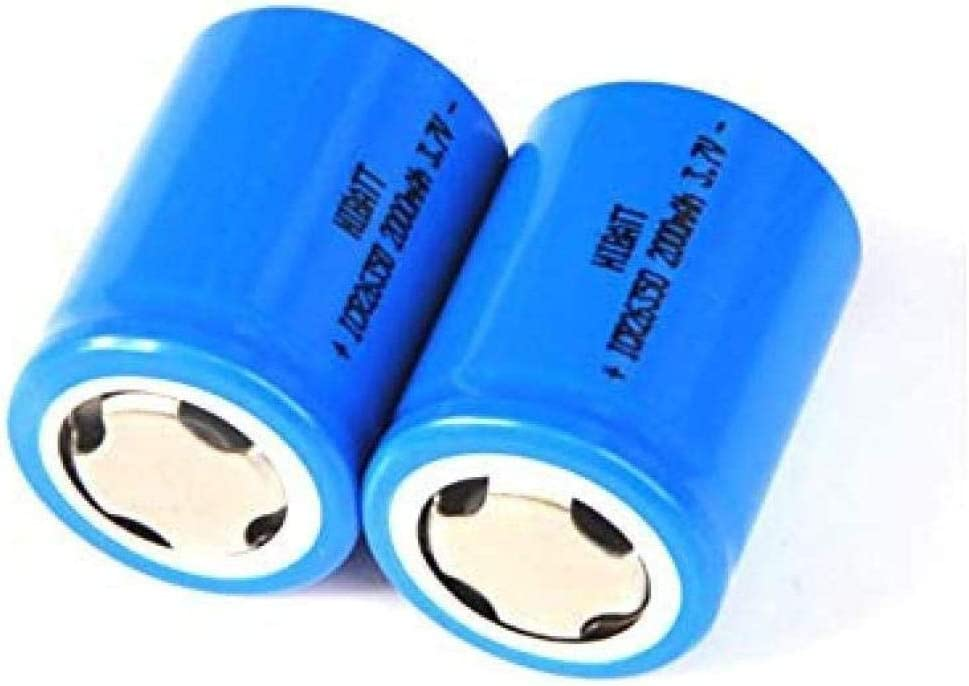 3PCS Beauty products 3.7V 26350 Rechargeable Lithium Max 79% OFF 2000MAH for Fla ION Battery