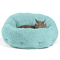 top rated Sheri OrthoComfort Deep Dish Cuddler (20x20x12 ″) Best Friend – Automatic Warming Bed for Cats and Dogs… 2021