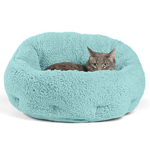 Best Friends by Sheri OrthoComfort Deep Dish Cuddler (20x20x12') - Self-Warming Cat and Dog Bed,...