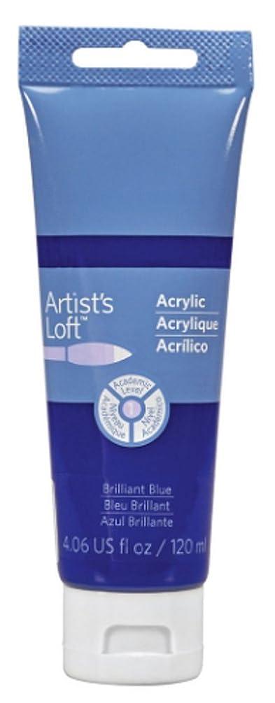 Artist's Loft Acrylic Paint, 4 oz (Brilliant Blue)