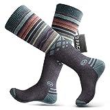 Ski Socks 2-Pack Merino Wool,...