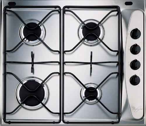 Whirlpool AKM260IX – gasplaat – 4 kookplaatsen