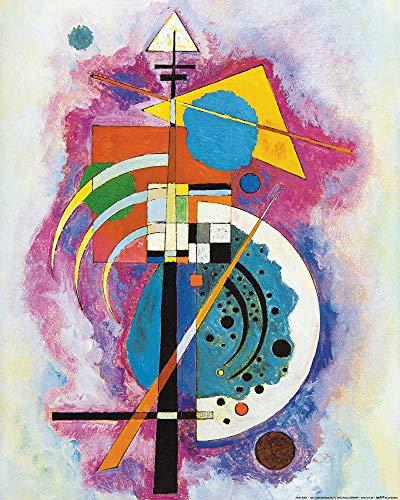 1art1 Vassily Kandinsky Poster Reproduction - Hommage À Grohmann, 1926 (50 x 40 cm)