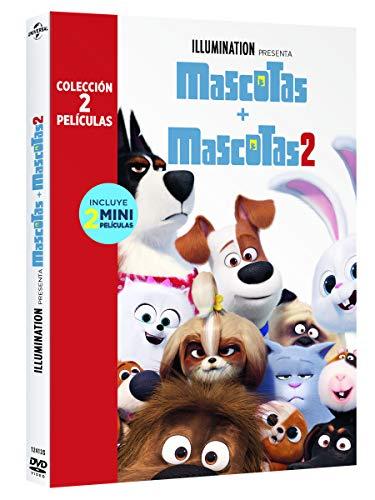 Pack: Mascotas 1+2 [DVD]
