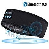 Schlafkopfhörer Bluetooth Adventskalender Schlaf Kopfhörer - Personalisierte Geschenke Sleepphones mit Ultradünnen HD Stereo Lautsprecher, Super Weich Schlafkopfhoerer für Sport, Seitenschläfer, usw