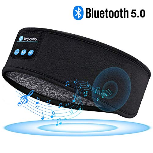 (40% OFF Coupon) Bluetooth Headband Headphones For Side Sleepers, Running, Yoga $11.93