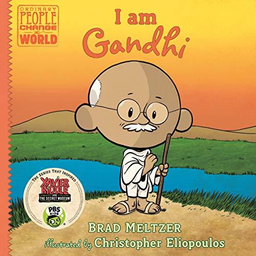 Page de couverture de I Am Gandhi