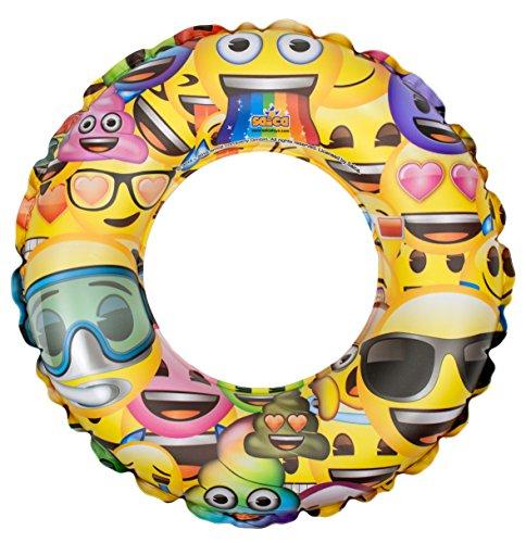 Emoji- Flotador Hinchable, Multicolor (Saica 5901)