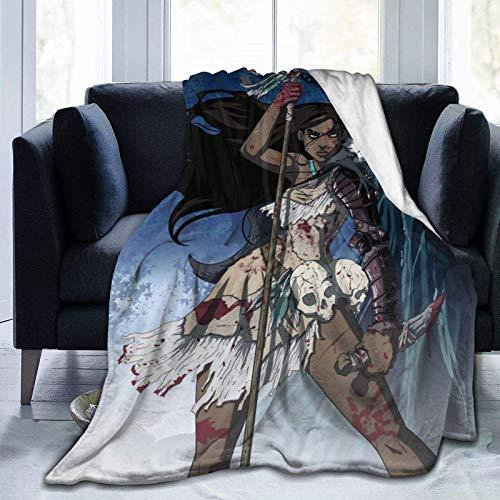 CheXe Manta De La Siesta Felpa Sofás Franela Pocahonta-s Buen sueño L127cm x W102cm