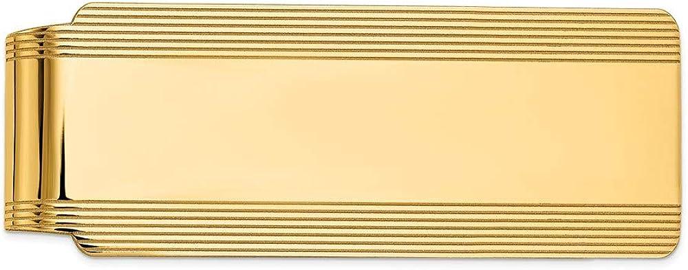 14k Yellow Gold Superlatite Clip Men's Great interest Money
