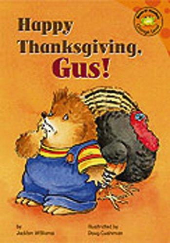 Happy Thanksgiving, Gus! (Read-it! Readers, Orange Level: Gus the Hedgehog)