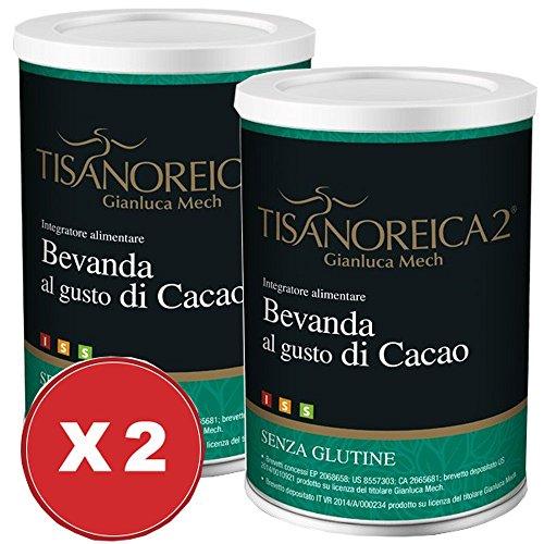 Bevanda Cacao Tisanoreica 2 Confezioni da 350 grammi - Gianluca Mech