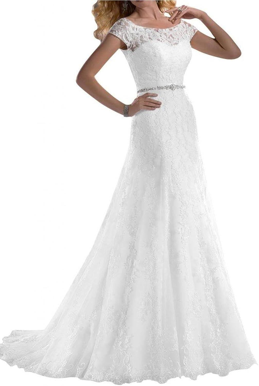 Angel Bride Wedding Dresses ALine Lace Sweetheart Long Dresses