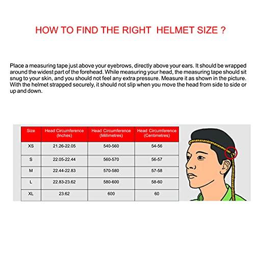 Studds Urban O/F Helmet BK/BK Strip(L)