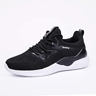 SKLT Women Running Shoes Mesh Sneakers Black Pink Breathable Ladies Non Slip Basket Trainers Jogging Walking Sport Shoes