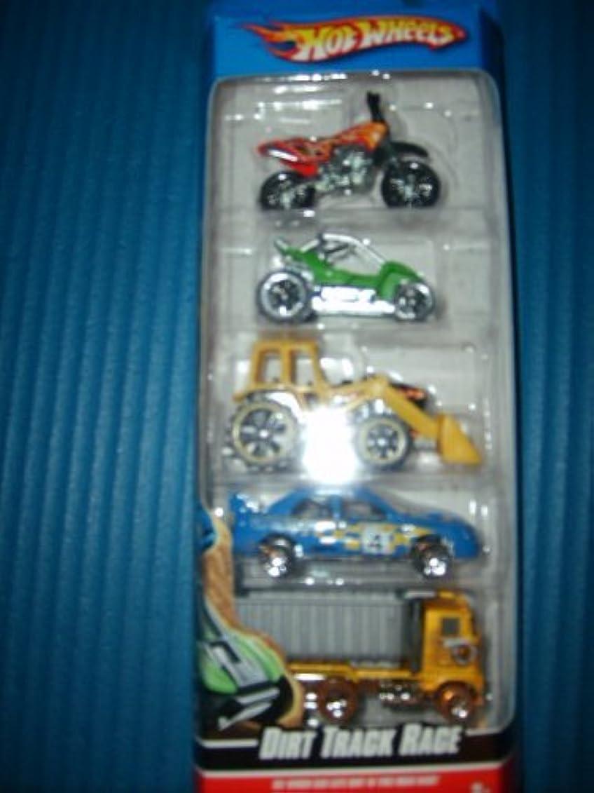 ロマンチックギャラリーピカソHot Wheels 5 Car Gift Pack - Dirt Track Race