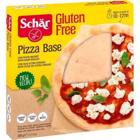 Base Pizza sans gluten 2 unités de repassage