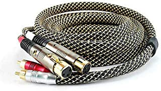 12ft Audio Cable2-RCA Male to 2-XLR Female Pro Series XR-A112S Tom Nowak