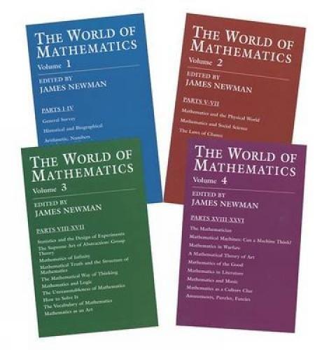 The World of Mathematics: A Four-Volume Set (Dover Books on Mathematics)